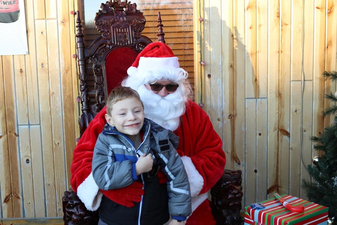 The Original Hog Wild Santa Visit 2019 25