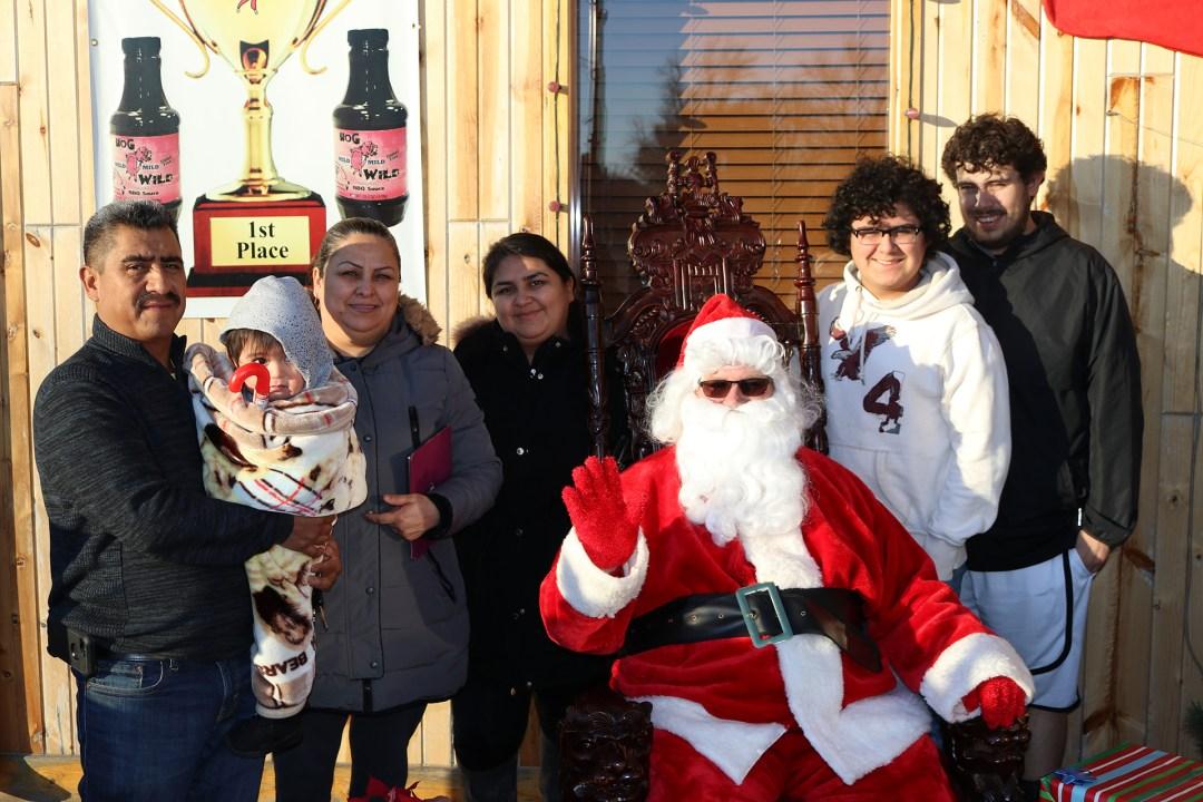 The Original Hog Wild Santa Visit 2019 37