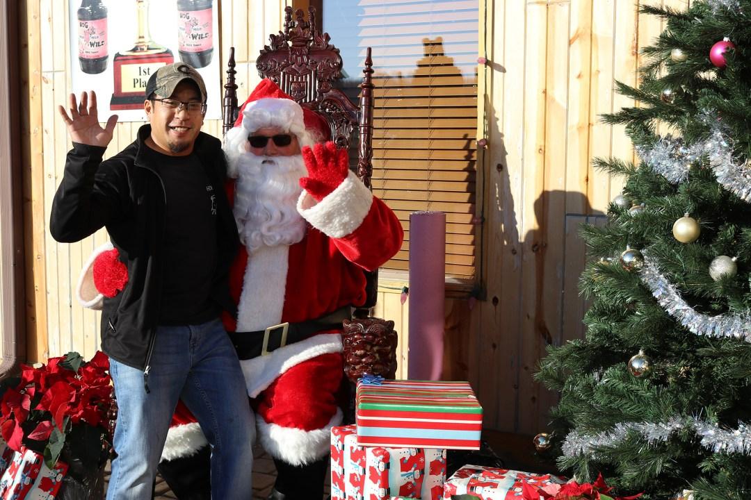 The Original Hog Wild Santa Visit 2019 4