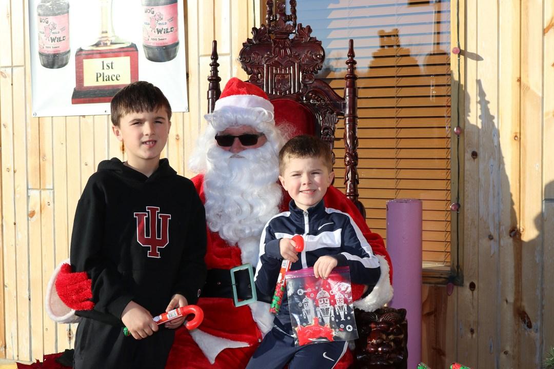 The Original Hog Wild Santa Visit 2019 59