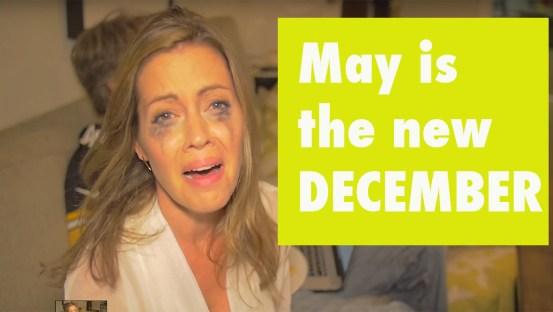 may is the new december