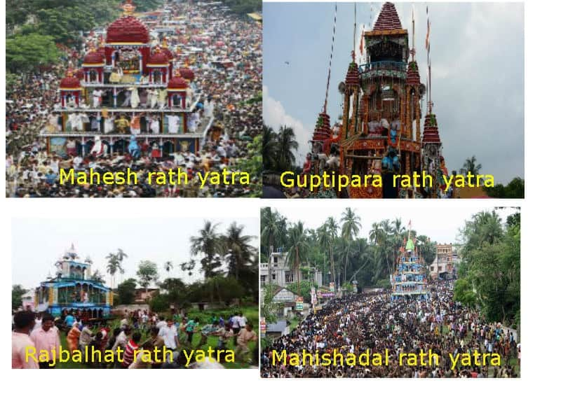 west bengal rath yatra