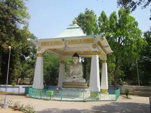 Japanese temple Rajgir