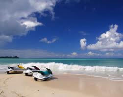 The beaches of Antigua
