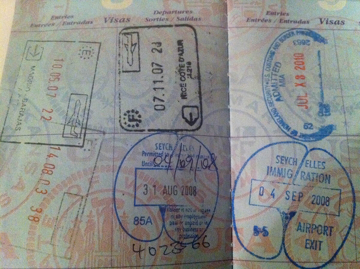 Passports belonging to digital nomads tend to be a bit full