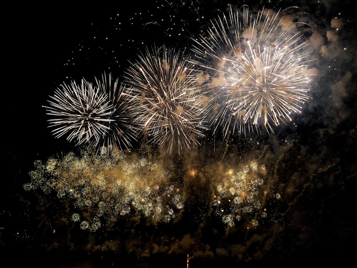 The Montreal Fireworks Festival is one of the top 5 summer festivals in Canada