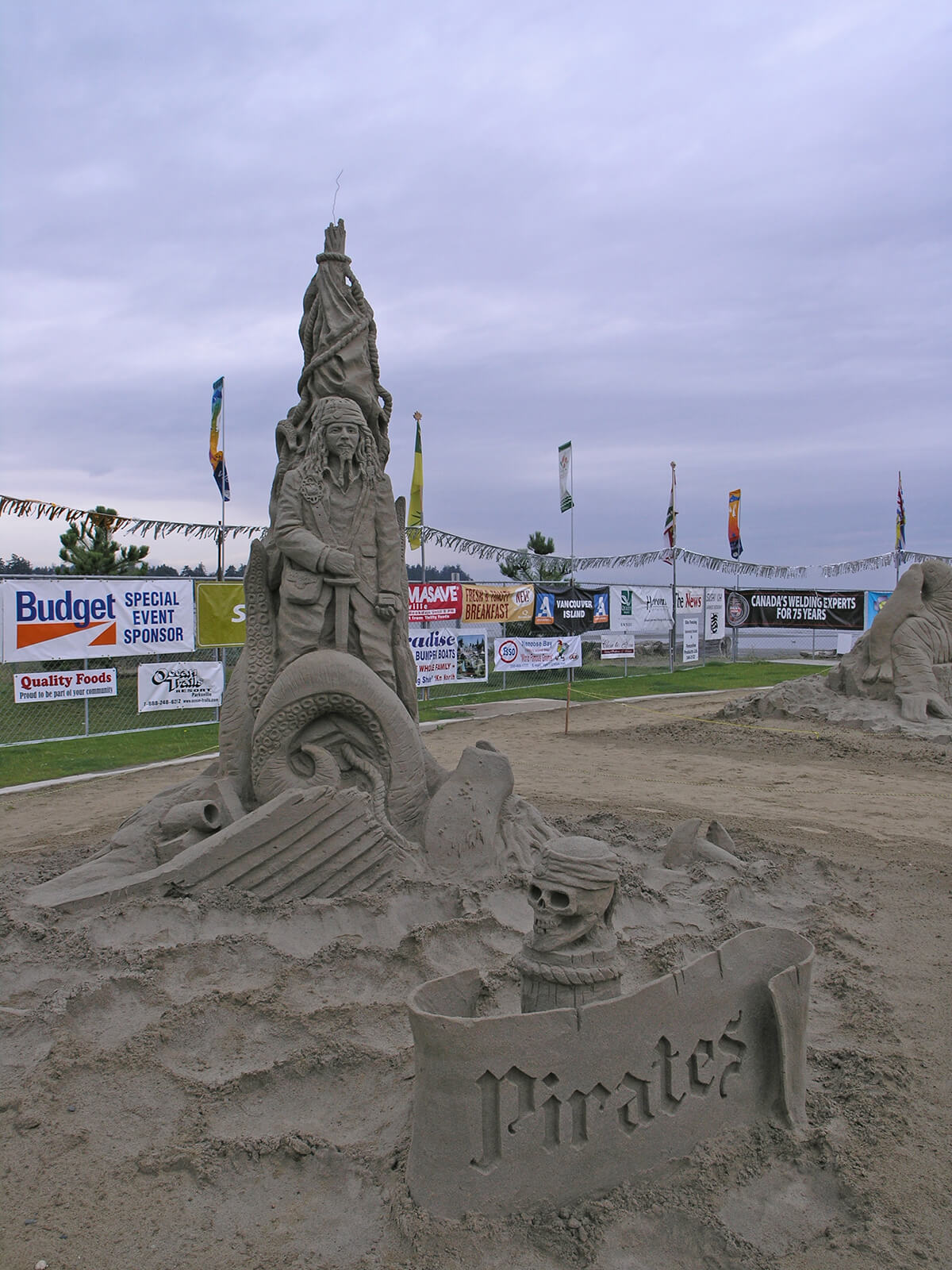 Parksville Beach Fest is one of the top 5 summer festivals in Canada because of the gigantic sandcastle building contest