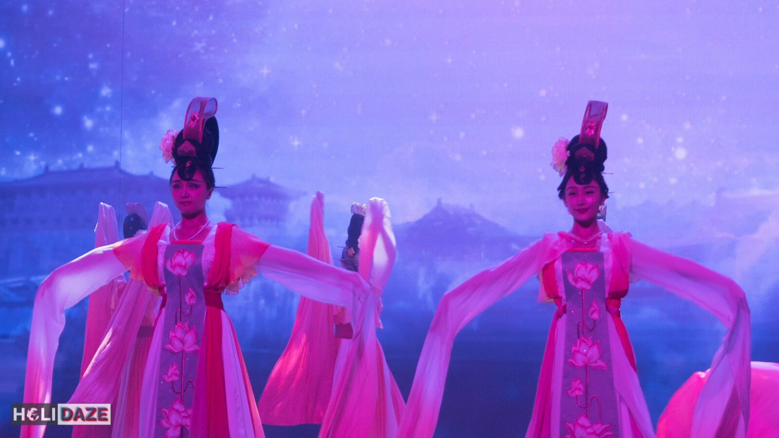 Empress of the Great Tang performance at Tang Dynasty Palace in Xi'an, China
