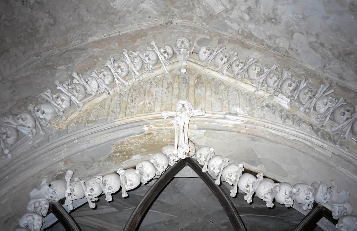Sedlec Ossuary in Kutna Hora, Czech Republic