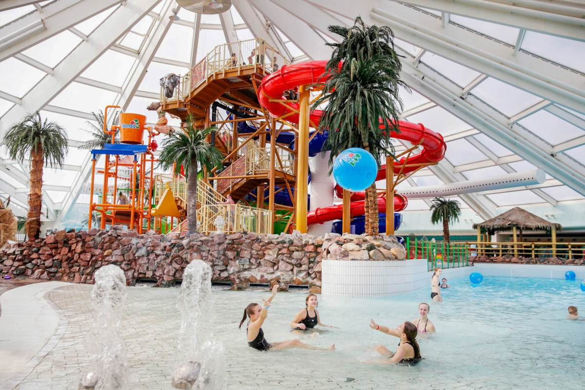 Lalandia in Billund, Denmark, is Scandinavia's biggest water park