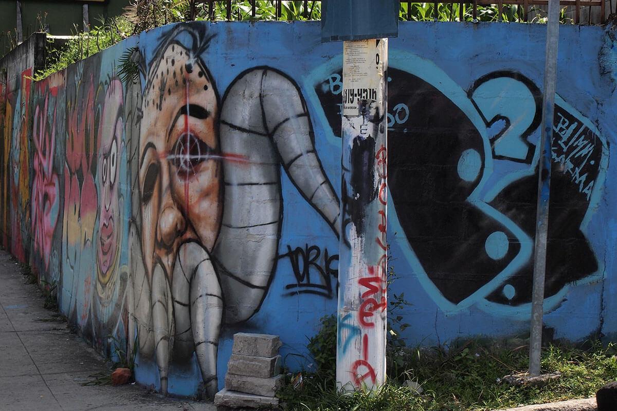 Street art in San Salvador, El Salvador