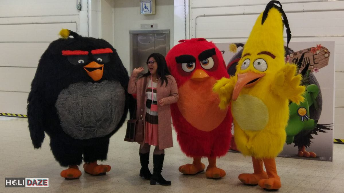 Angry Birds at NBE Finland 2017 in Helsinki. This is the Angry Birds' home -- just one of the many things you do not know about Finland.
