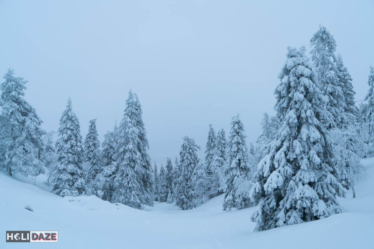 Lapland in Northern Finland is a true winter wonderland -- and reportedly the home of Santa Claus