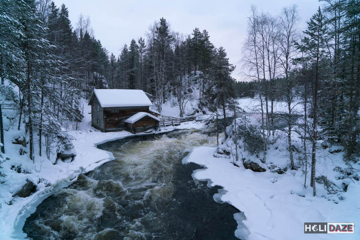 Oulanka National Park is one of the most photogenic parks close enough to Helsinki to be a day-trip