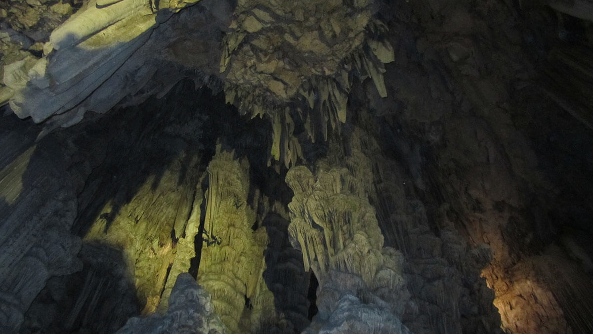 St Michael's Cave in Gibraltar