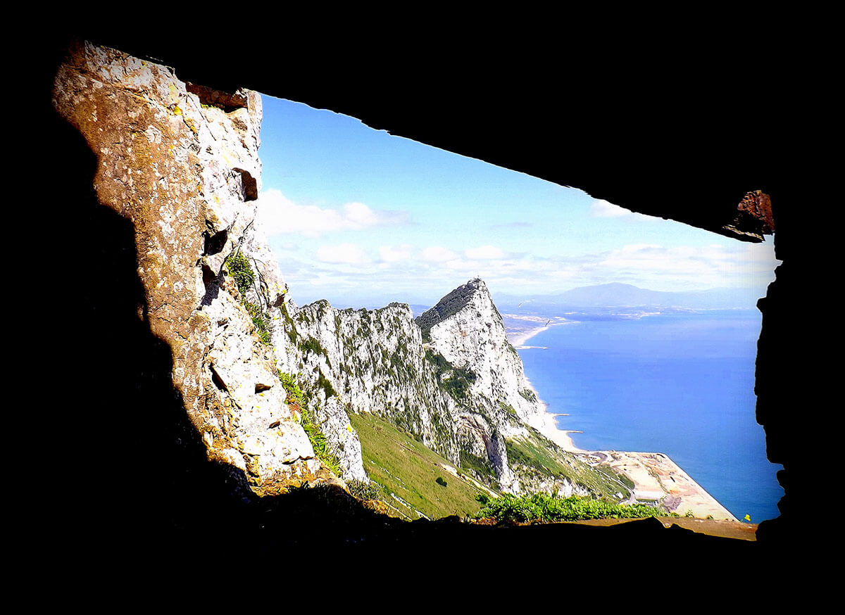 The 'Window to Gibraltar' is one of the top 5 caves in Europe