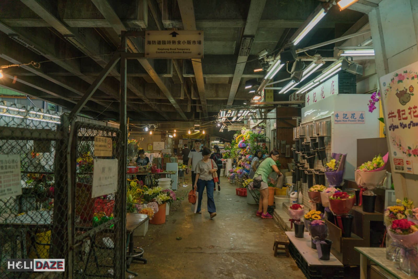 Haiphong Road Temporary Market is a local secret and great way to experience Hong Kong off the beaten path
