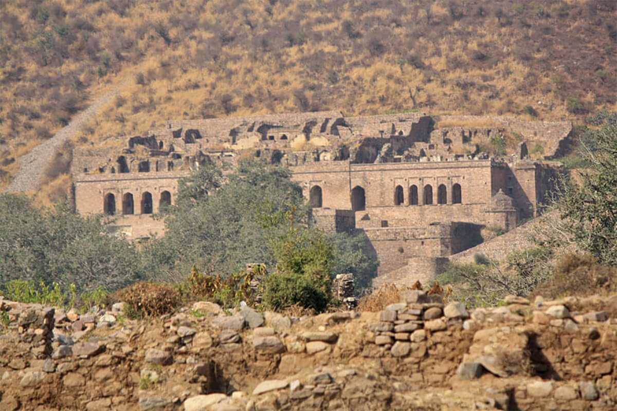 Bhangarh Fort in Rajasthan, the most haunted place in India -- so haunted the government has made it illegal to visit after nightfall!
