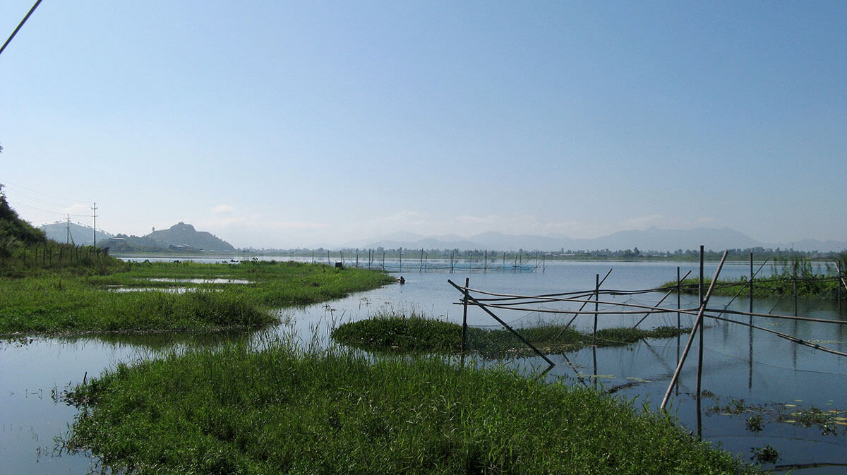 Loktak Lake, also known as the floating lake, one of the incredible India off the beaten path destinations