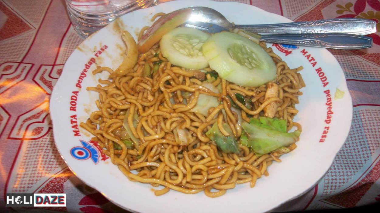 Indonesian Food Cheat Sheet: Mie Goreng Ayam