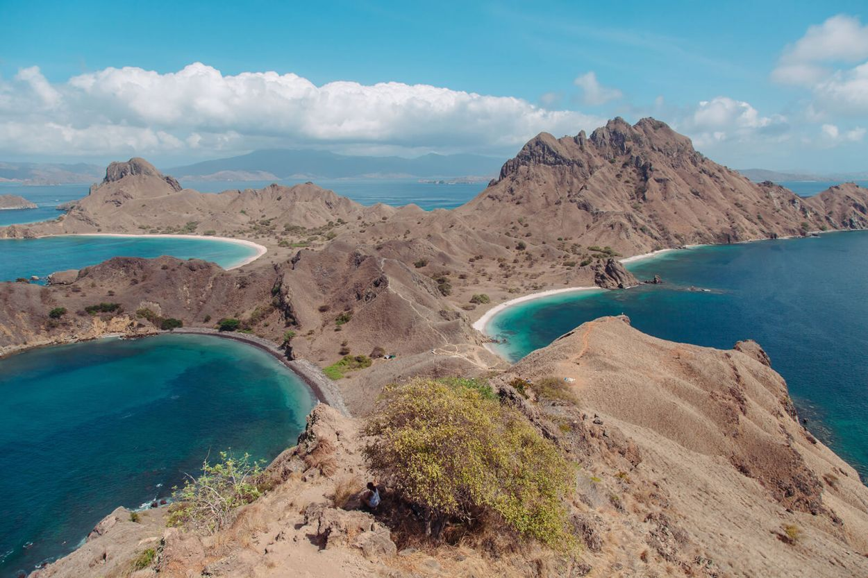 #1 piece of Indonesia travel advice? Don't miss out on Padar Island, part of Komodo National Park