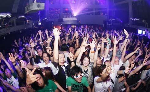 Clubbing in Tokyo, Japan