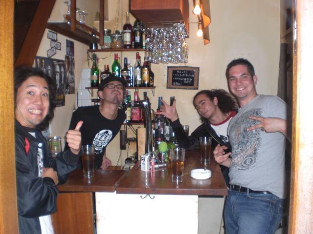 Drinking in Tokyo, Japan