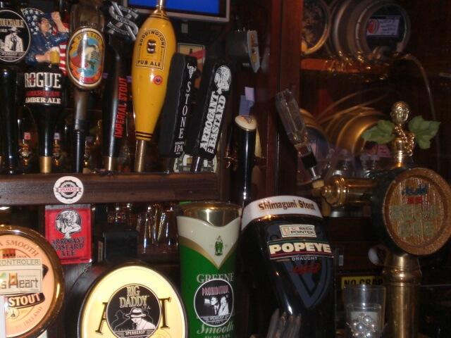 Lots of beer on tap in Tokyo, Japan