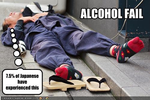 Alcohol Fail