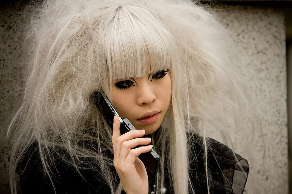 Harajuku fashion is not just clothing -- it's also hairstyle