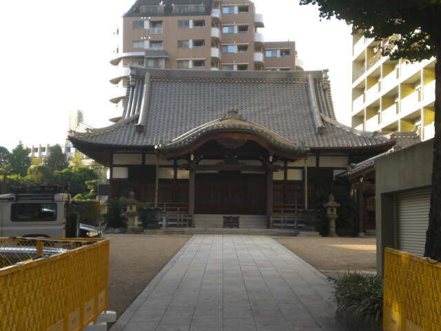 Random old shrine in Harajuku, Tokyo, Japan