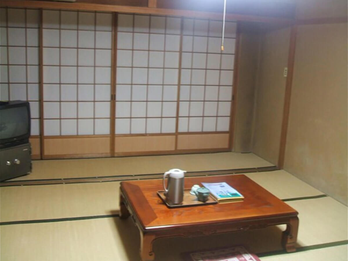 Traditional Japanese lodging at a Ryokan in Takayama, Japan