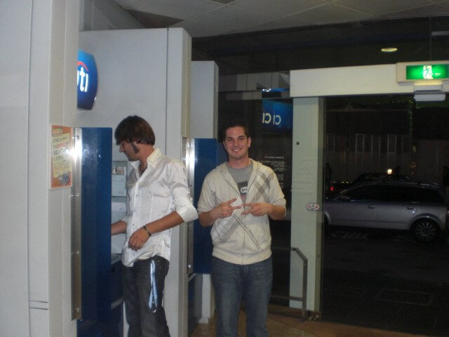2am ATM run while club-hopping in Shibuya ward, Tokyo, Japan