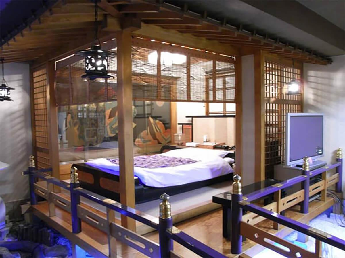 Love hotel room in Shibuya ward, Tokyo, Japan
