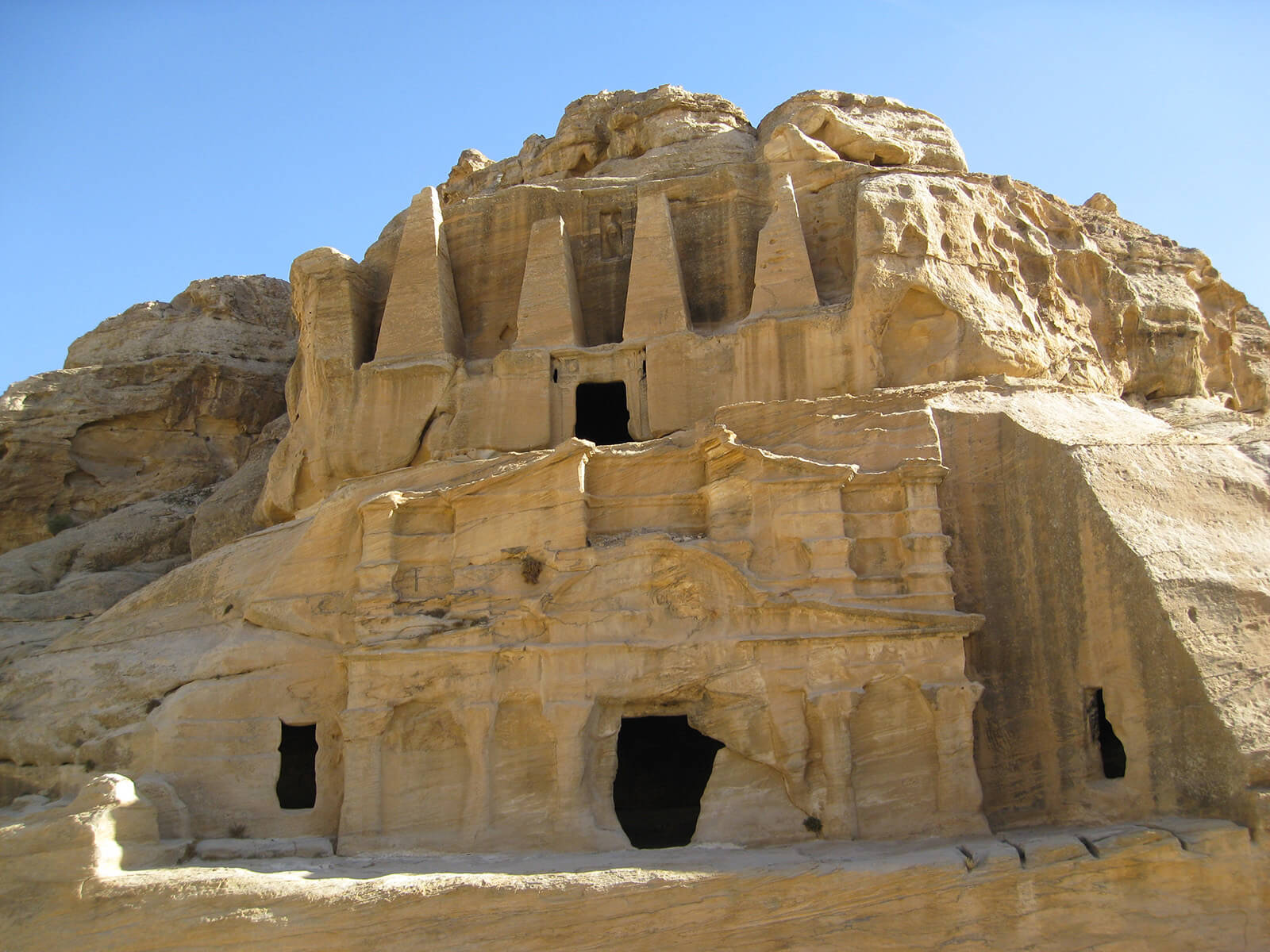 Petra is infamous for discriminating against white travelers