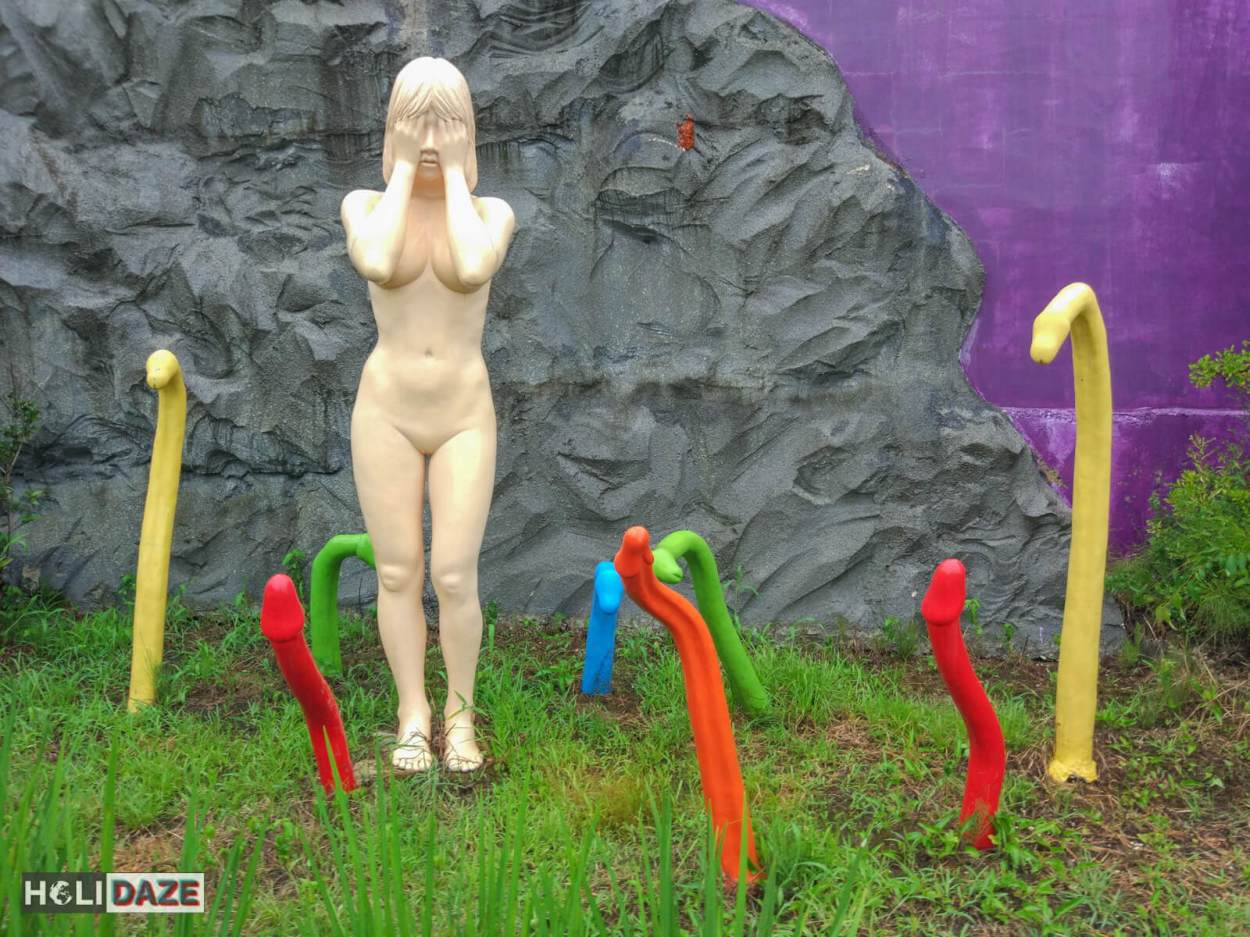 Watch out for dicks at the Sex Museum Gyongju in Korea