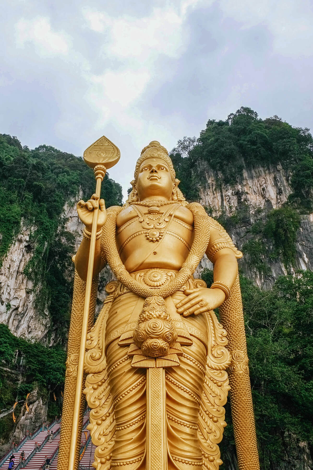 The Batu Caves are one of the obligatory things to do in Kuala Lumpur, Malaysia, for all first time visitors