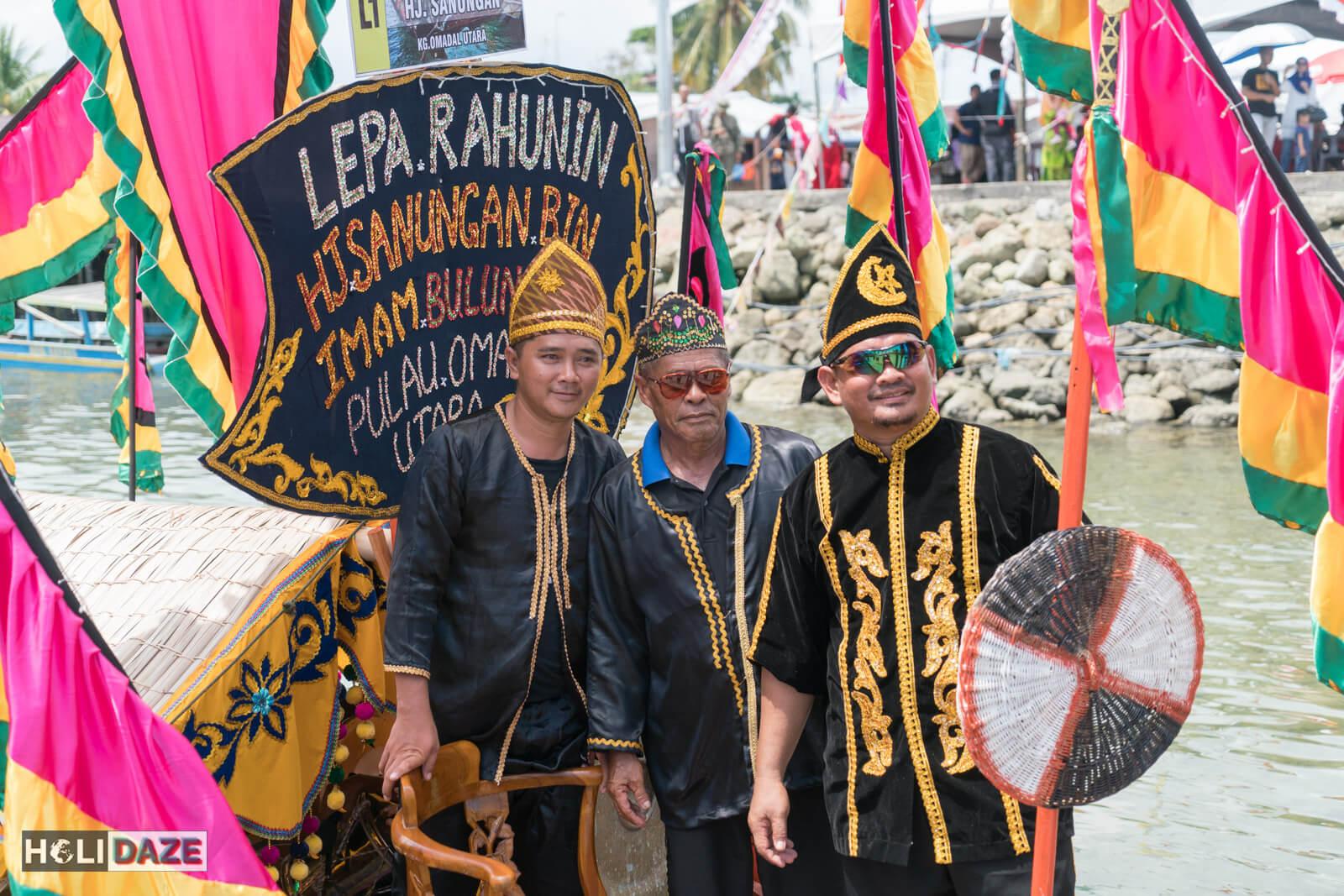 The Regatta Lepa festival in Semporna, Sabah, East Malaysia