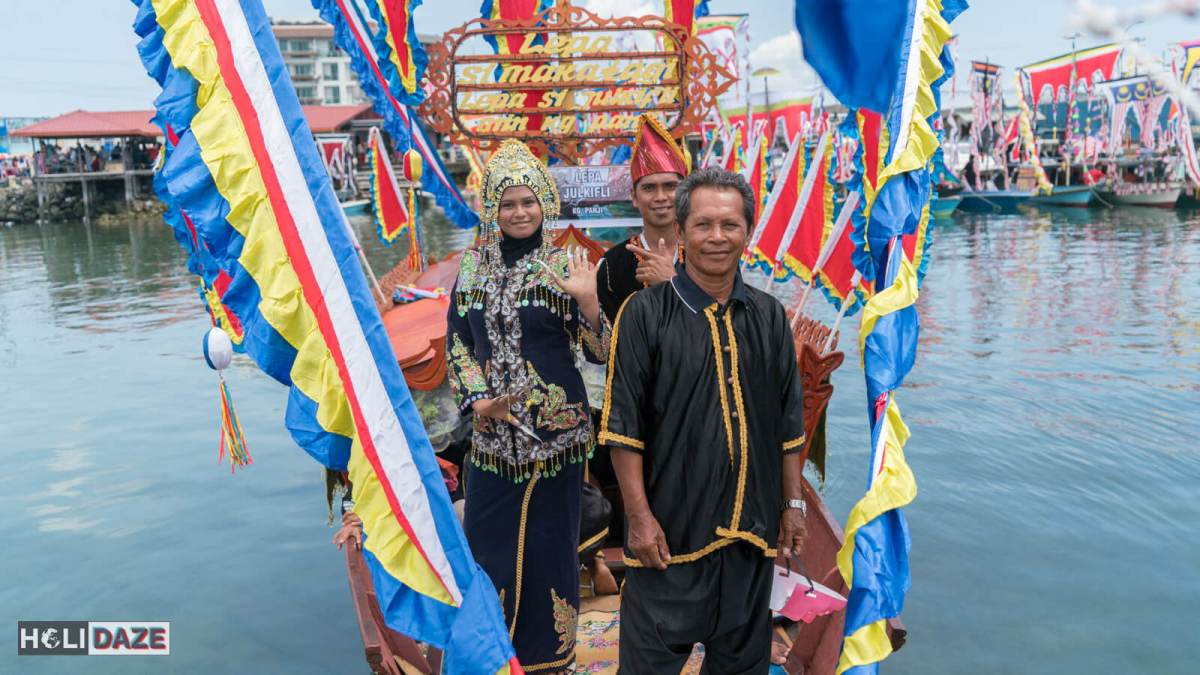 The Regatta Lepa festival 2017 in Semporna, Sabah, East Malaysia