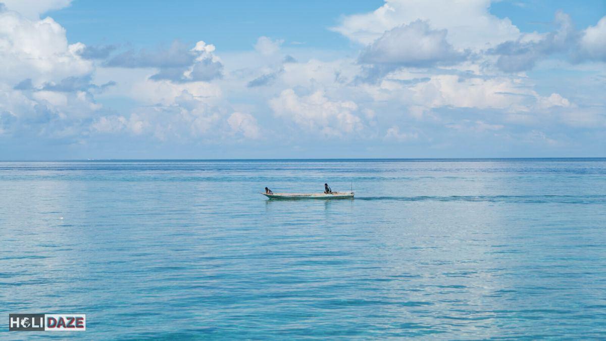 Local fisherman at Mabul Island just off the coast of Semporna, Sabah, Malaysia