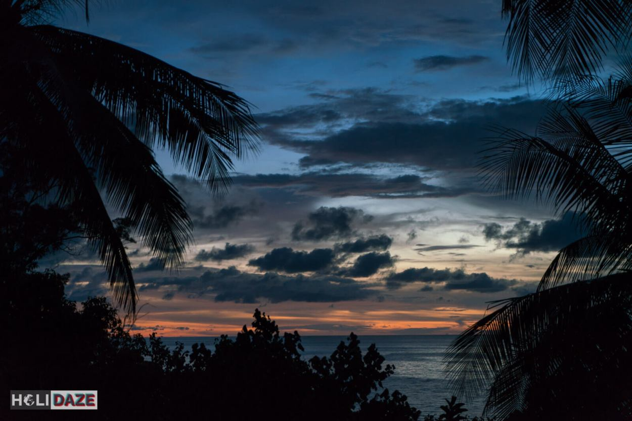 Hibiscus Beach Retreat at the Tip of Borneo is one of the best places to view the sunset in Sabah