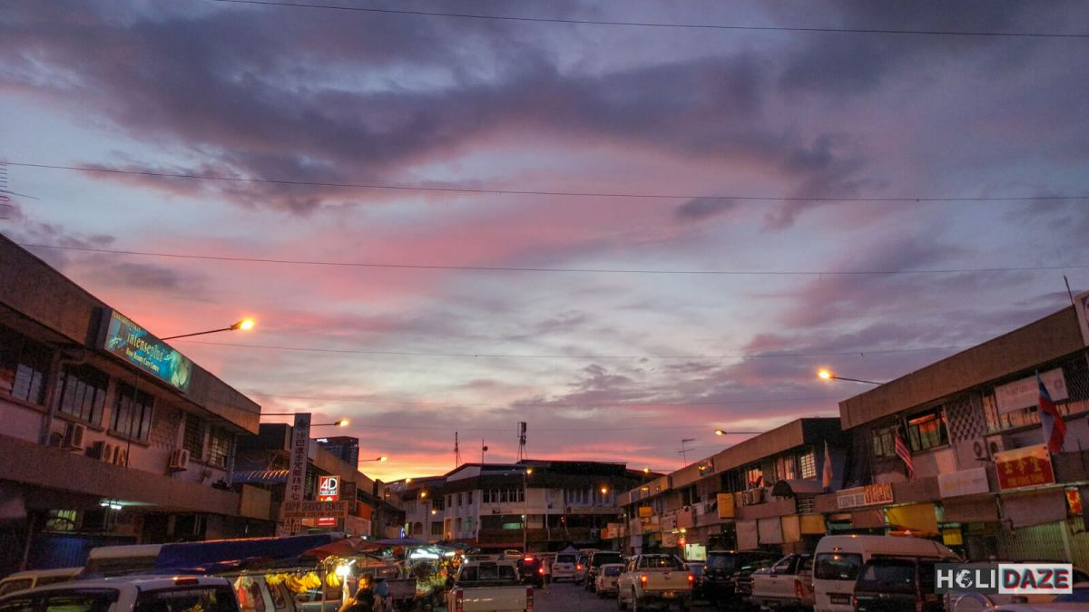 Kota Kinabalu is one of the top places to view the sunset in Sabah, Borneo, East Malaysia