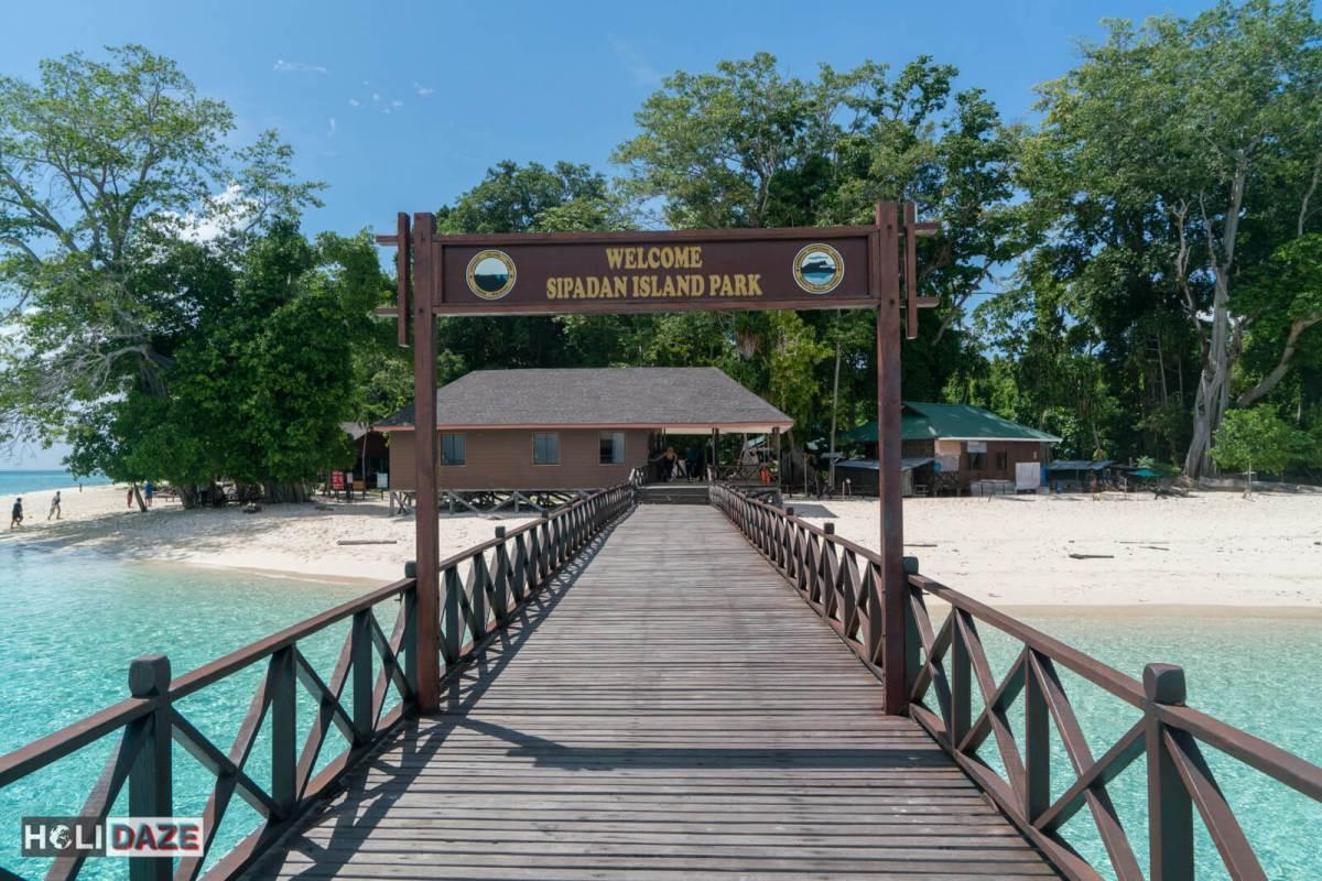 Welcome to Sipadan Island Park