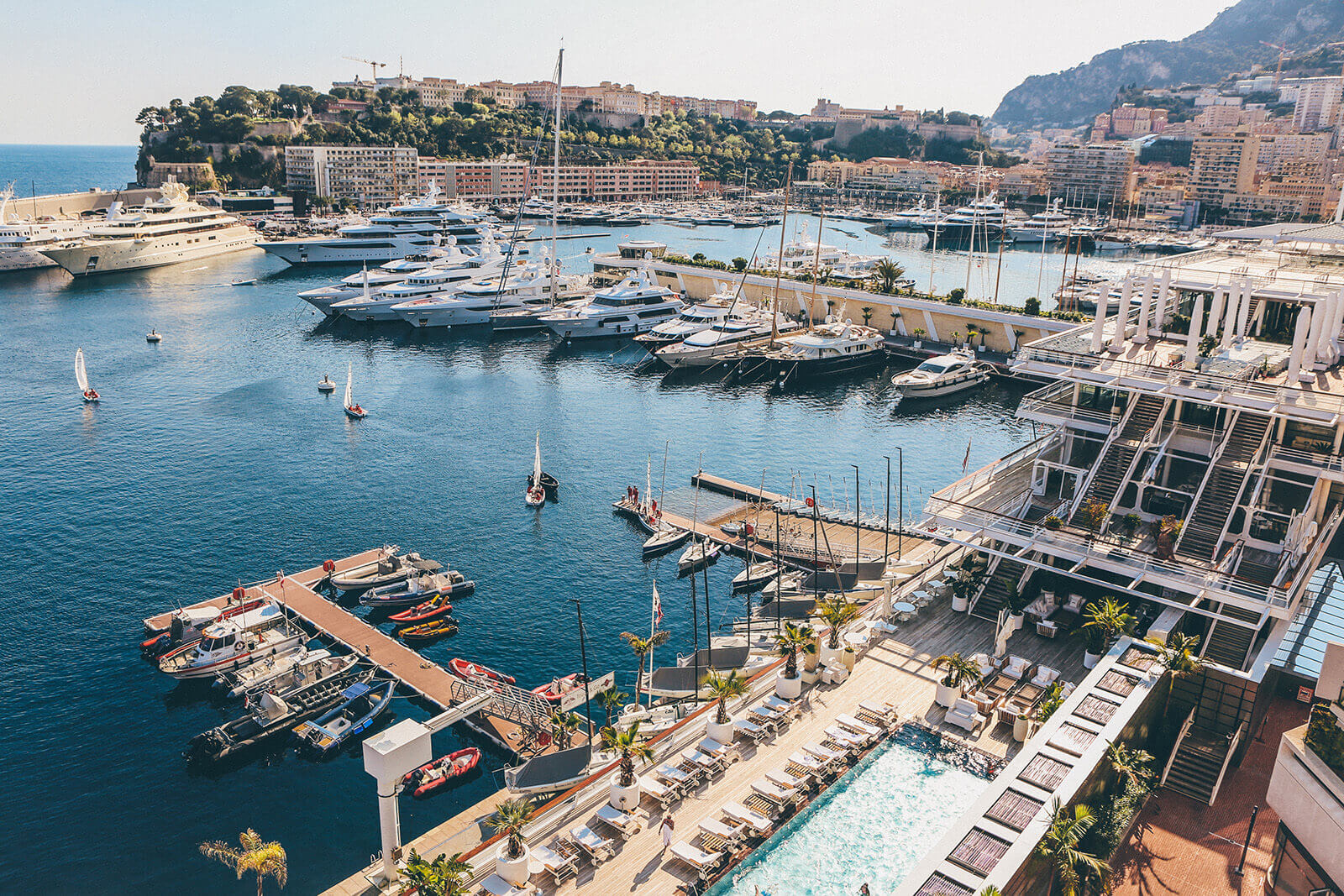 Port Hercules, otherwise known as Monaco Harbour