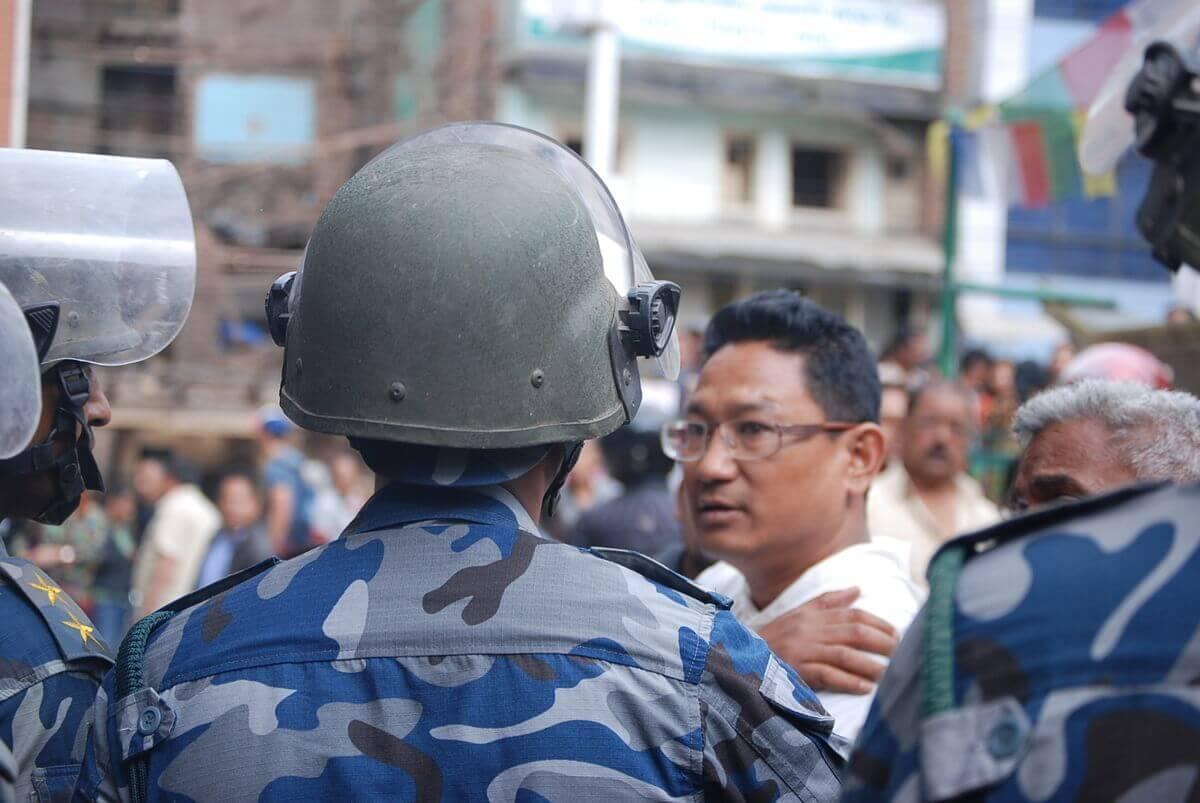 Chaos in Kathmandu, Nepal