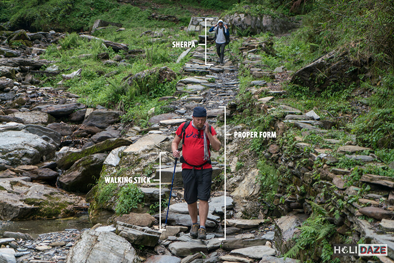 Analaysis of a trekker -- what you need to go trekking Annapurna Conservation Area in Nepal