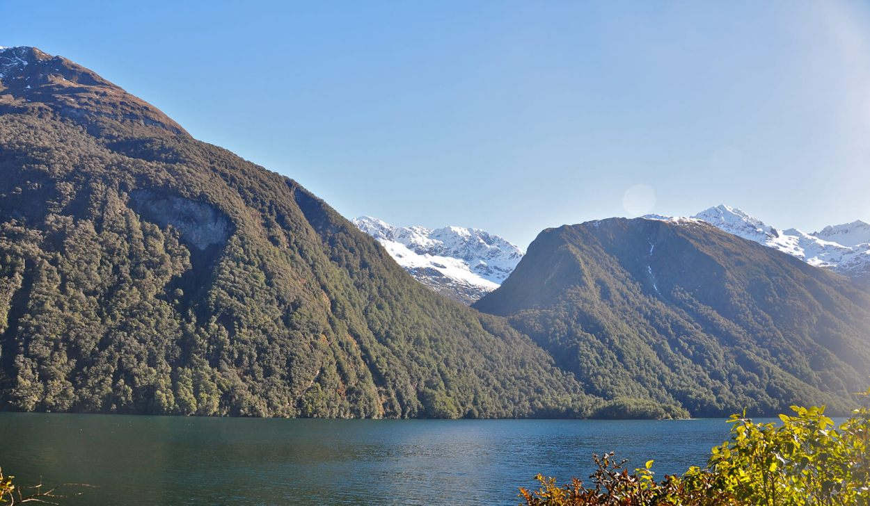 Milford Sound in Te Anau, New Zealand