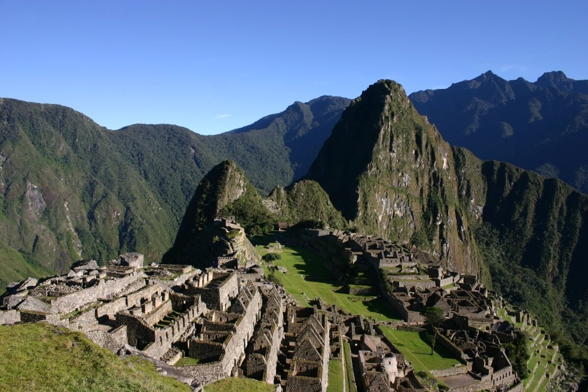 Early morning at Machu Picchu, Peru