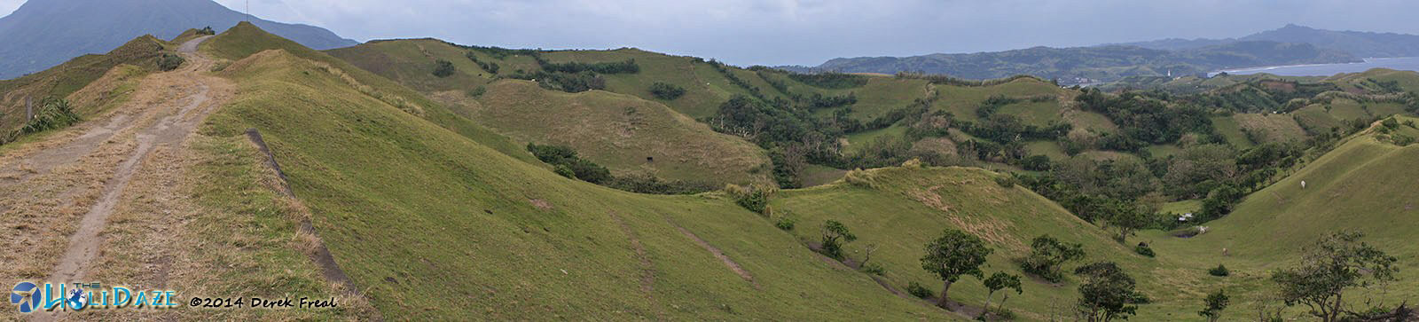 Vayang Rolling Hills panoramic shot. It's more fun in the Philippines.