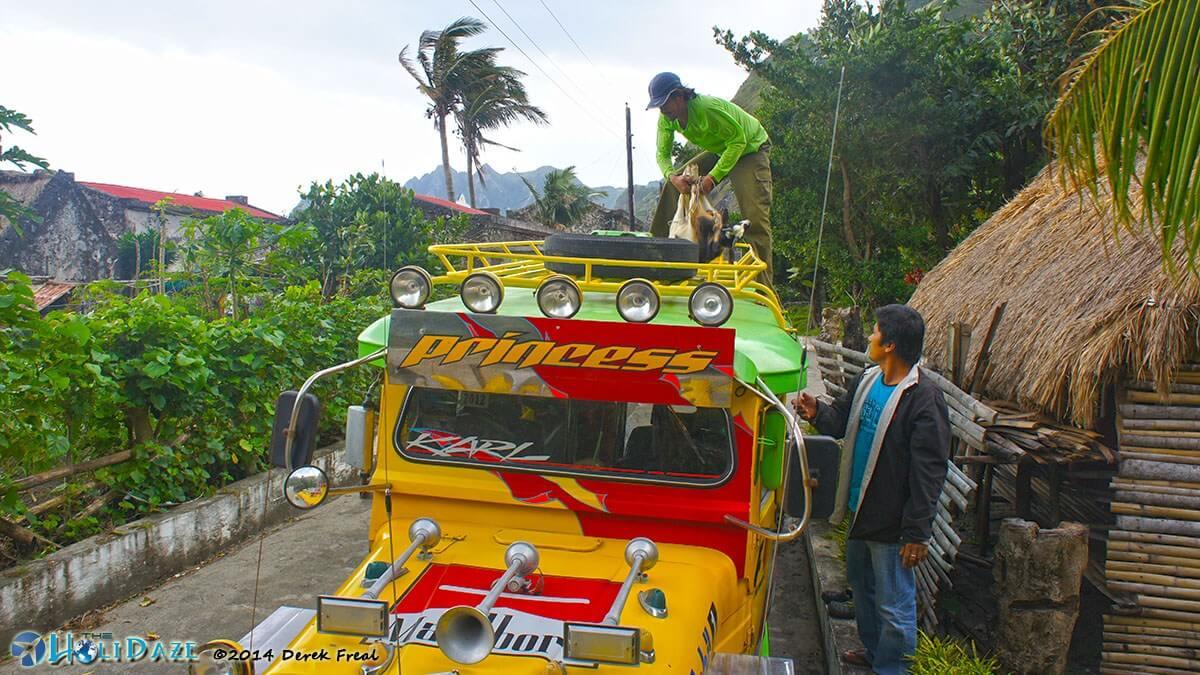 Chavayan village on Sabtang island, Batanes, in the northern Philippines